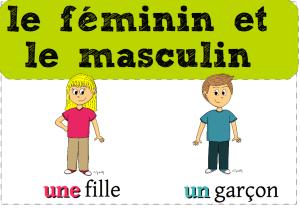 affiche masculin féminin 1